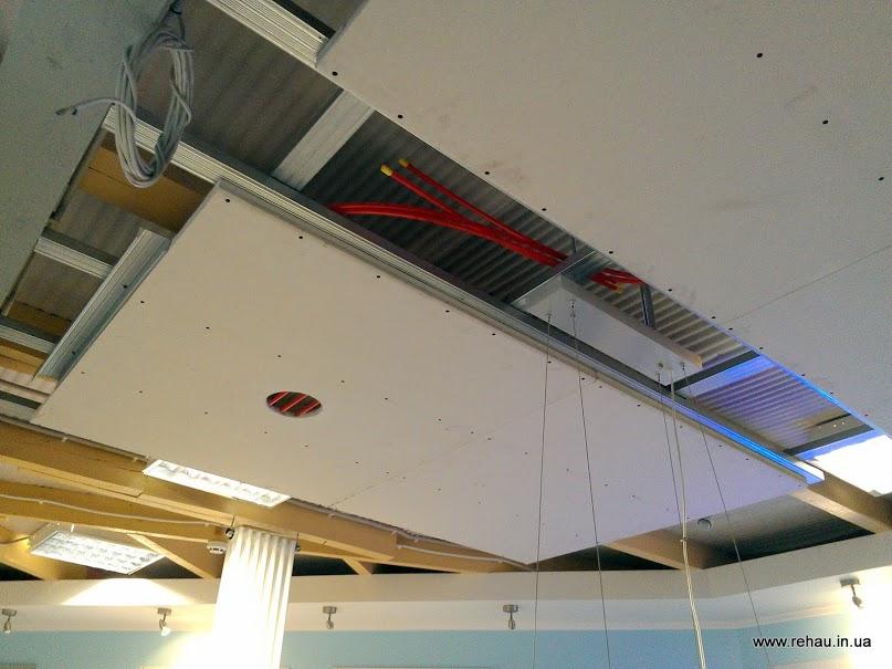 системы лучистого отопления и охлаждения